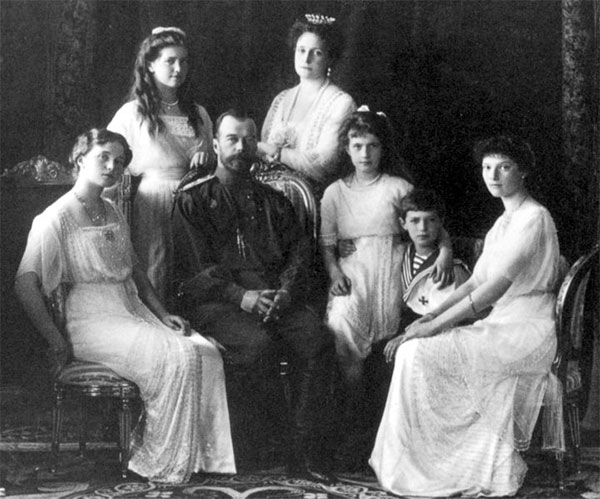 Tsar Nicholas and family